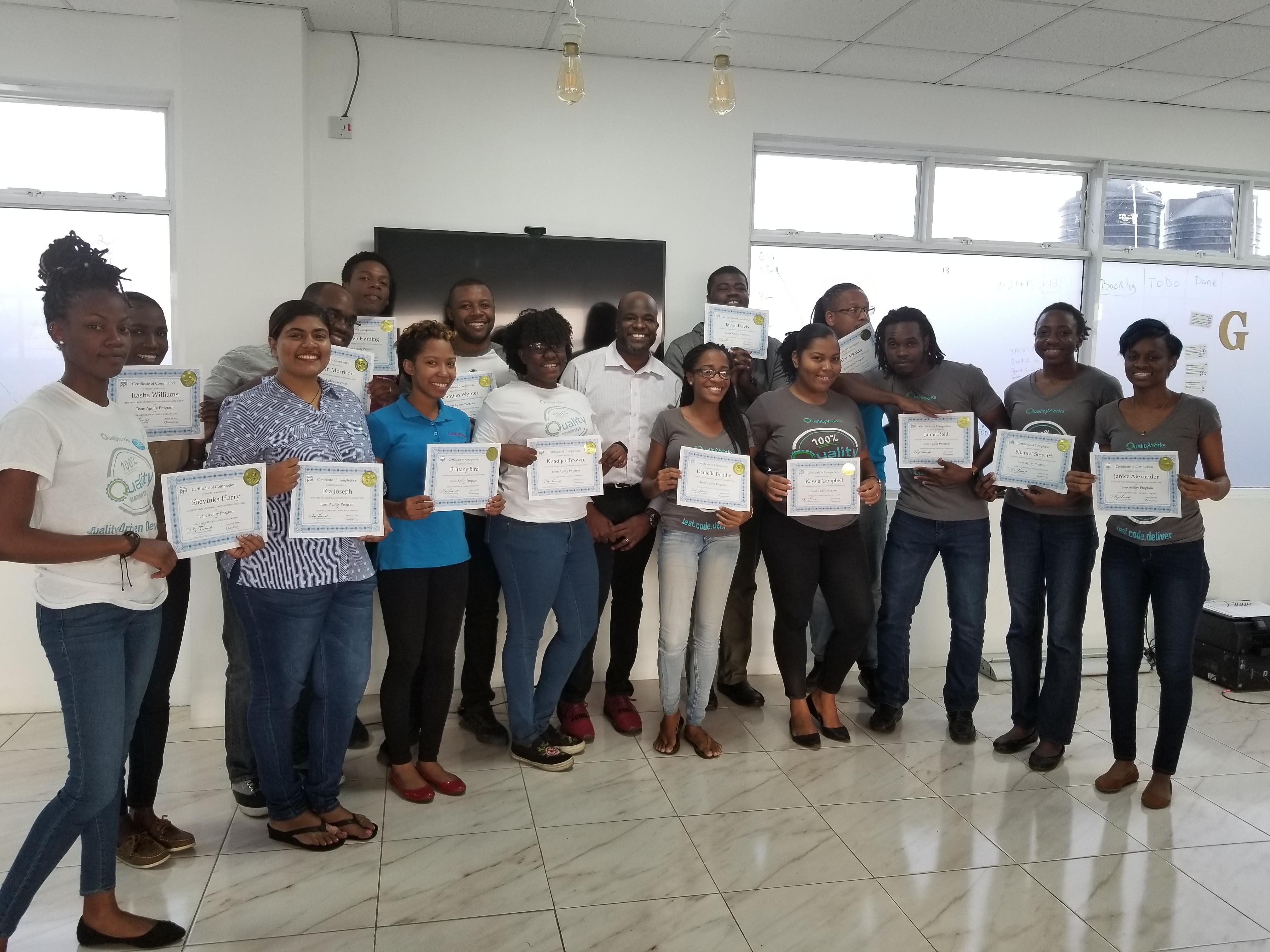 QualityWorks Agile Workshop - Transform2